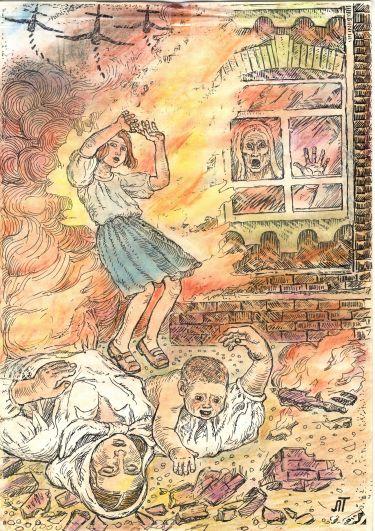 Приказ фельдмаршала Паулюса шестой полевой армии «Утопить город в огне».