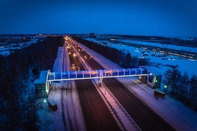 Натрассе Уфа-Аэропорт установили 83 знака и10 информационных щитов