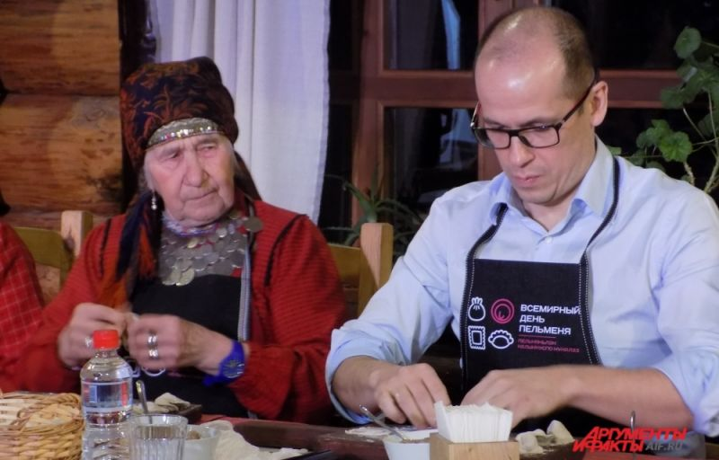 Александр Бречалов рассказал, что переехав в Удмуртию, стал есть пельмени чаще.