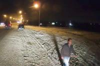 Разыскиваемого мужчину зафиксировал видеорегистратор.