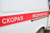 В аварии пострадала женщина.