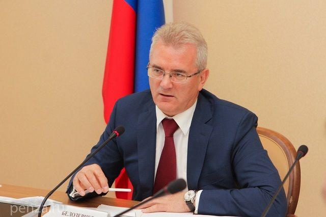 Иван Белозерцев выступил с инициативой.