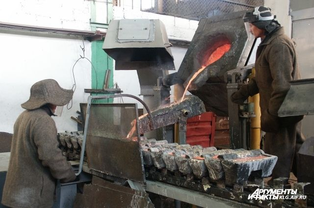 На заводе в Прибрежном нашли нелегальную плавильную печь.