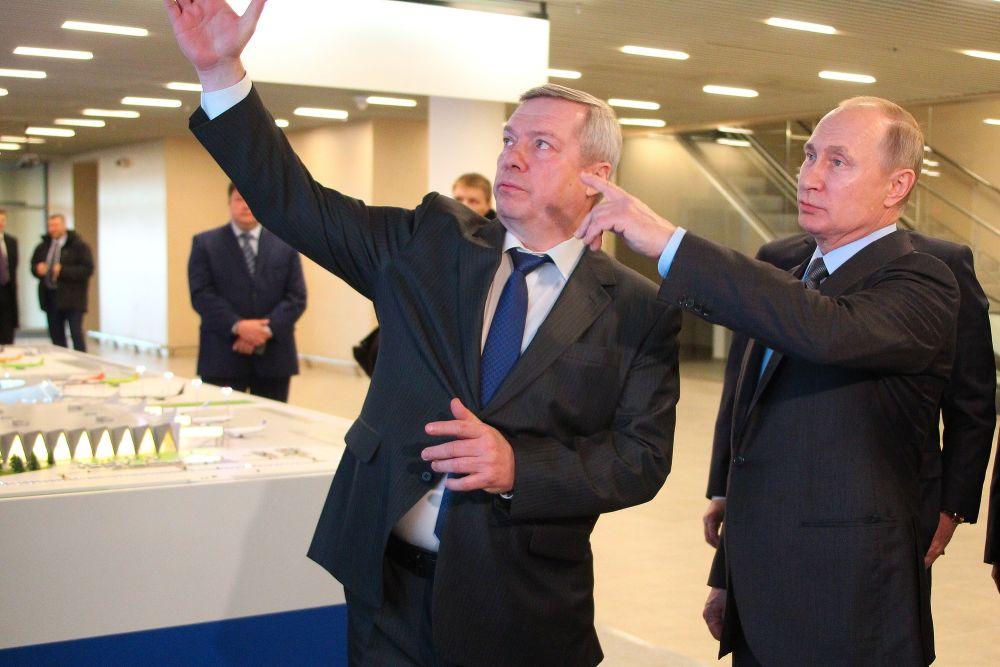 Губернатор Ростовской области Василий Голубев рассказал о перспективах развития аэропорта