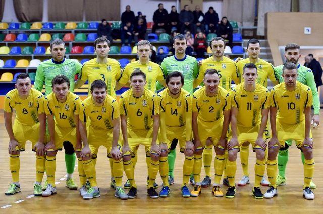 Футзалисты сборной Украины сегодня стартуют наЧЕ вЛюбляне