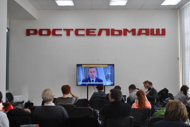 Пресс-центр для журналистов