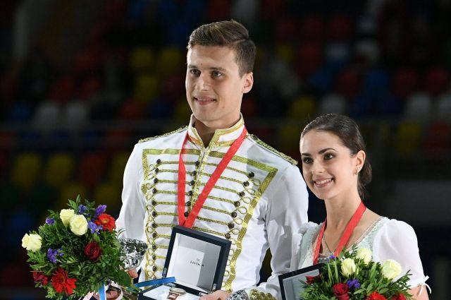 Фигуристы Александр Энберт и Наталья Забияко поборются за медали Олимпиады-2018.