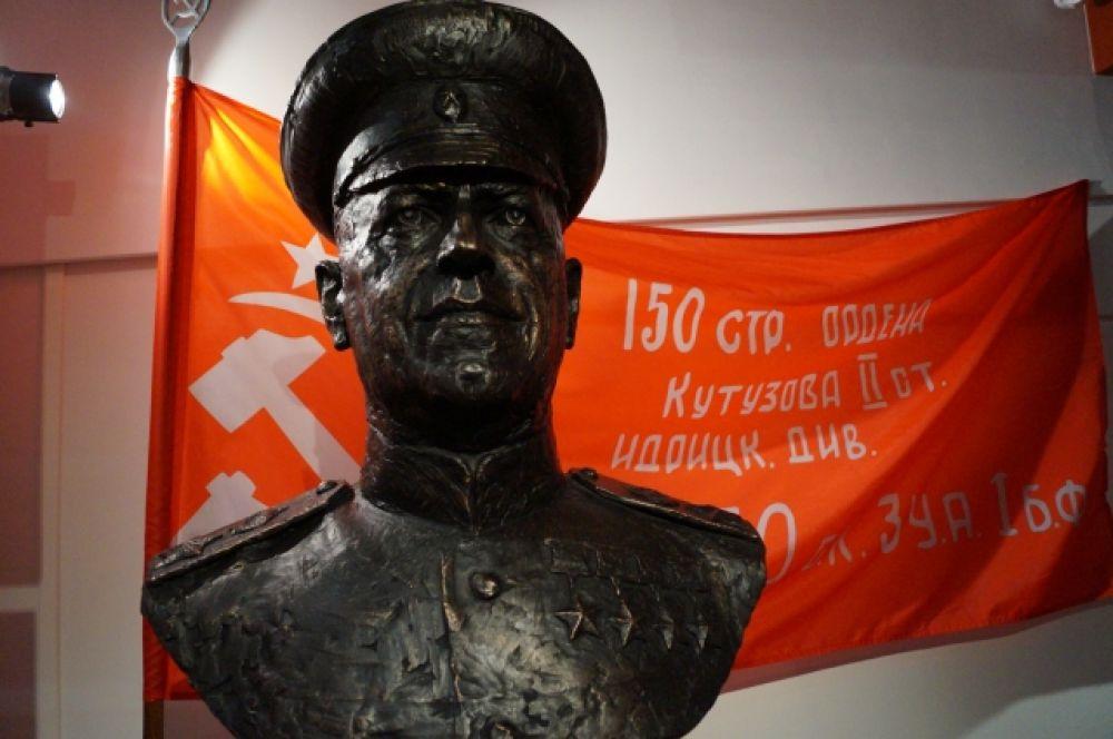 Автор бюста - академик Российской Академии Художеств Андрей Тыртышников