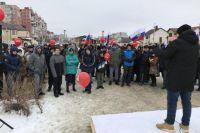 28 января в Ставрополе прошла согласованная с властями «забастовка избирателей», на которую пришли, по разным подсчётам, от 60 до 150 человек. Накануне акции протеста у организаторов во время обыска в штабе изъяли плакаты и оргтехнику.