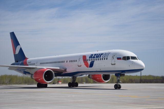 Чартерной компании Azur Air могут ограничить право наполеты