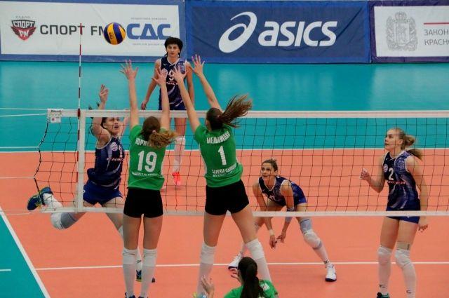 Волейболистки Красноярска то играли, то - нет.
