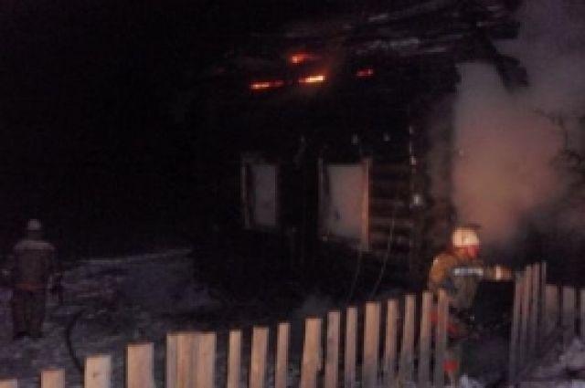 ВПермском крае впожаре погибли двое детей