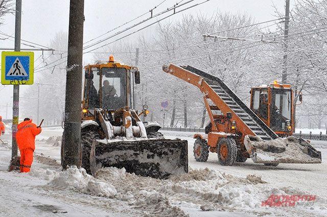 5февраля вПермском крае ожидаются сильные снегопады