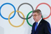 Президент Международного олимпийского комитета Томас Бах.