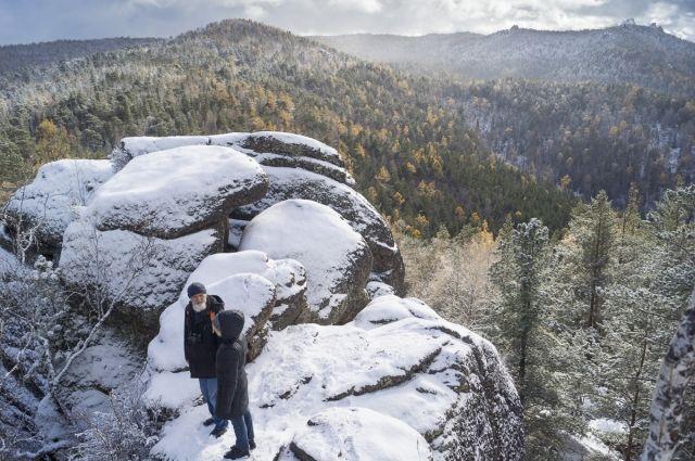 Зимние прогулки по заповеднику могут быть опасны.