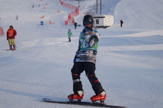 Соревнования прошли в горнолыжном комплексе