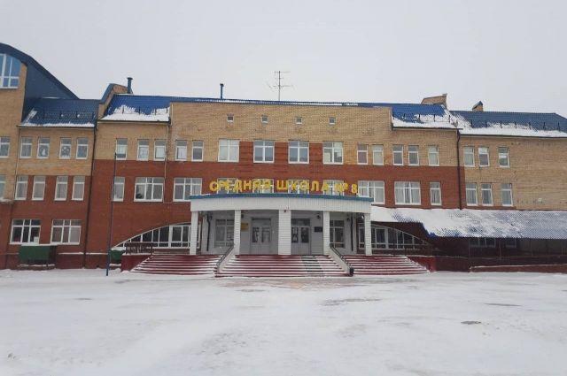 Первой на карантин закрылась школа №8