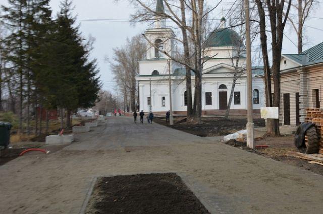 Нагорный парк Барнаула продолжат благоустраивать весной