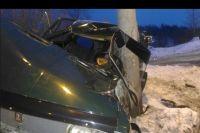 Водитель пострадал в ДТП вечером 3 февраля.