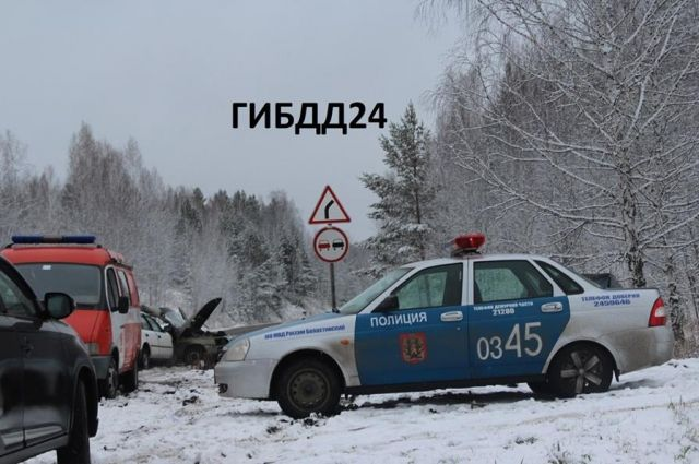 ВКрасноярском крае столкнулись ЗИЛ иавтобус с11 пассажирами