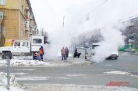 К вечеру теплоснабжение домов по ул. Есенина (Трикотажная) восстановят