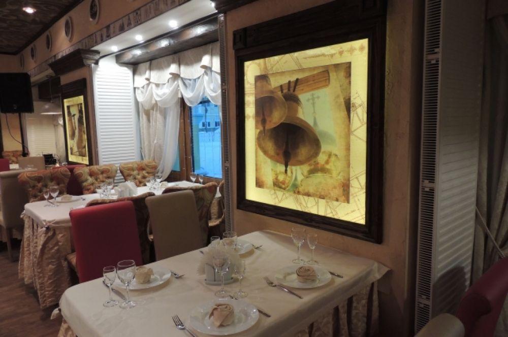 Ресторан в стиле фьюжн в гостинице «Русское подворье»