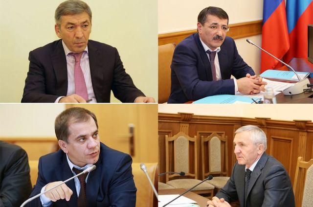Задержанных вДагестане чиновников вывезли в столицуРФ  для допроса
