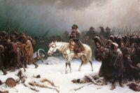 «Отступление Наполеона из Москвы». Адольф Нортен