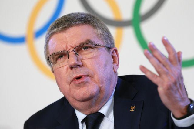 Отсутствия санкций недостаточно для допуска россиян наОлимпиаду— Томас Бах