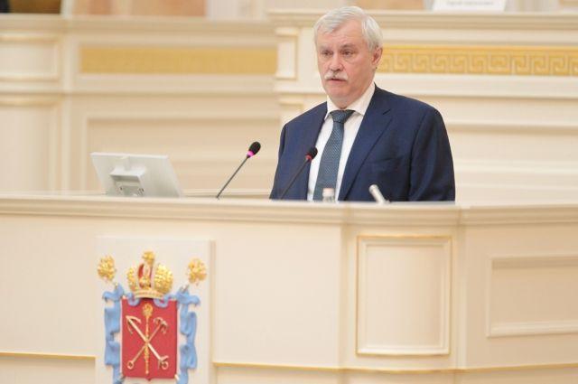 Путин наградил Полтавченко забольшой вклад вразвитие Петербурга