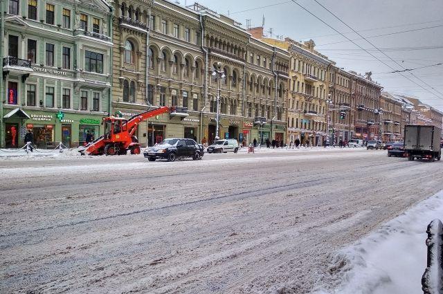 ВПетербурге утилизировали млн. кубометров снега