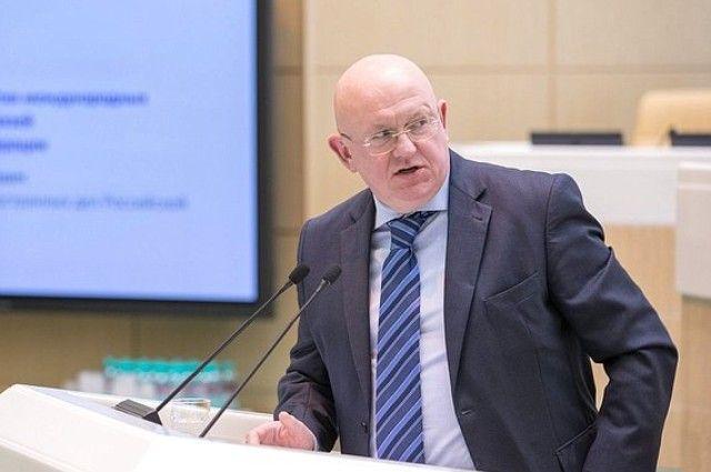 Небензя объявил осаботаже в изучении инцидентом схиморужием вСирии