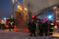 В пострадавшем от пожара здании находится отдел Алтайского краеведческого музея