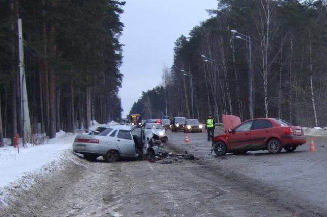 Водителям не хватило дороги.