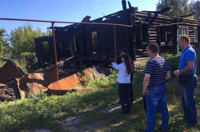 Женщина отобиды сожгла живьем 3-х знакомых вНижегородской области