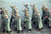 Объединенная команда на церемонии открытия XVI Олимпийских игр. 1992 г.