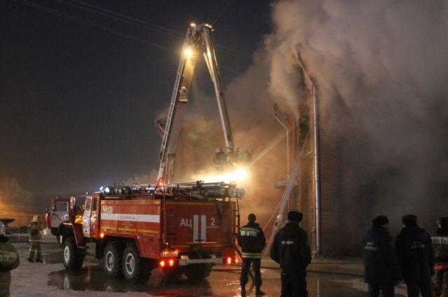 Вгороде Барнауле проводится доследственная проверка пофакту смерти человека впожаре