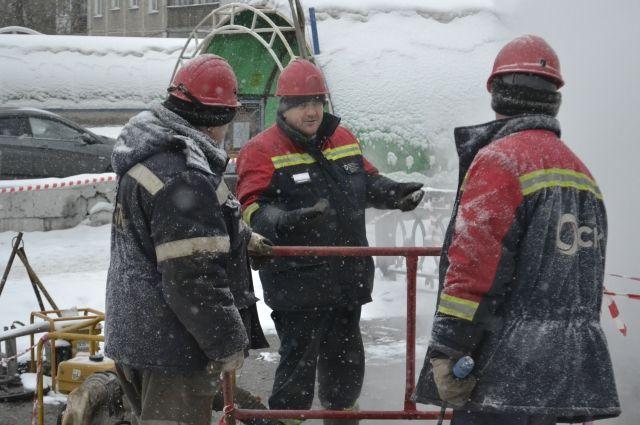 Ликвидация неполадок на теплосетях в Новокузнецке занимала не больше нескольких часов.