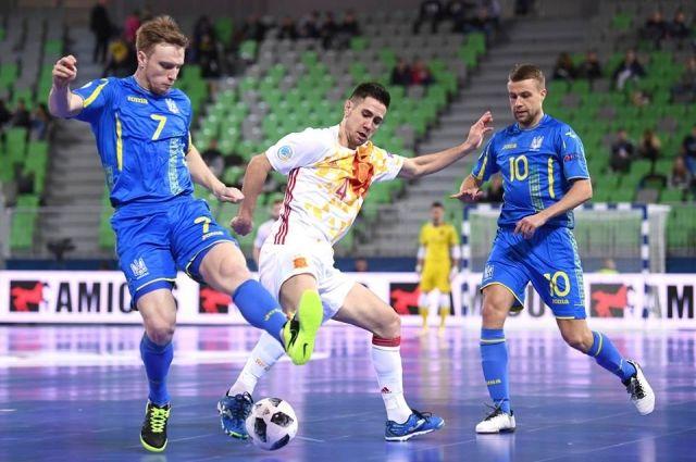Украинская команда закончила борьбу на Чемпионате Европы-2018 по футзалу
