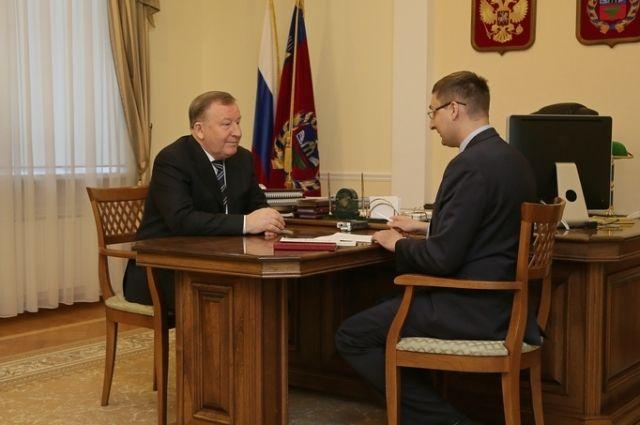 Александр Карлин и Антон Васильев.