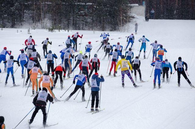 На «Лыжню России» вИркутской области вышли неменее 13 тыс. человек
