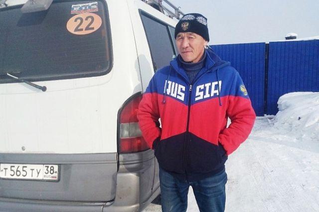 Водитель Маматкабыл Энсебаев.