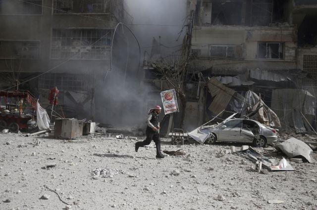 Коалиция воглаве сСША нанесла удар поармии Сирии