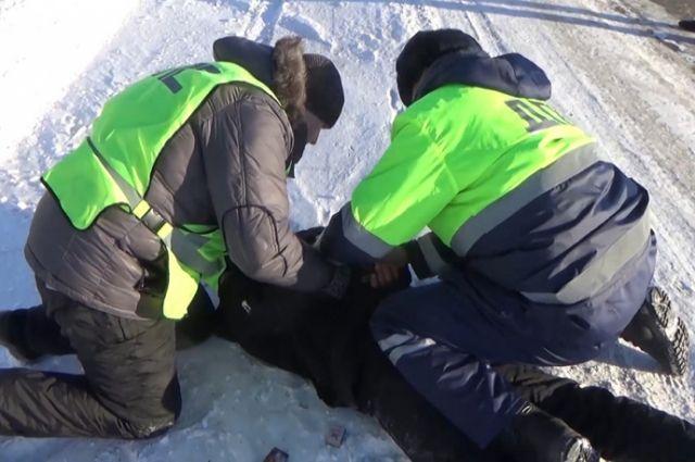 Экипаж ГИБДД задержал пьяного автоугонщика в Юргинском районе.