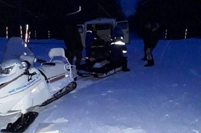 Рыбаки не смогли проехать по снежным заносам.