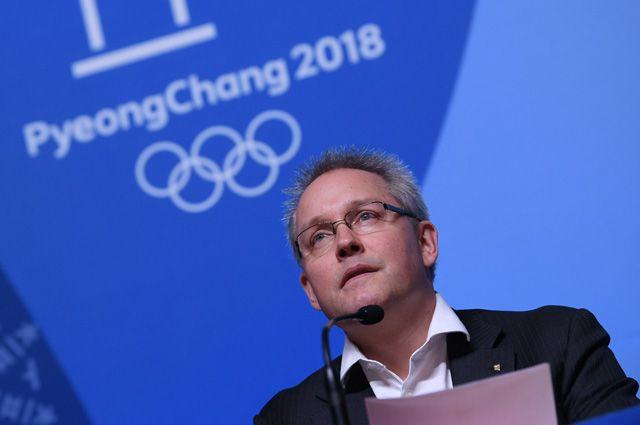 Генеральный секретарь Спортивного арбитражного суда Матье Риб.