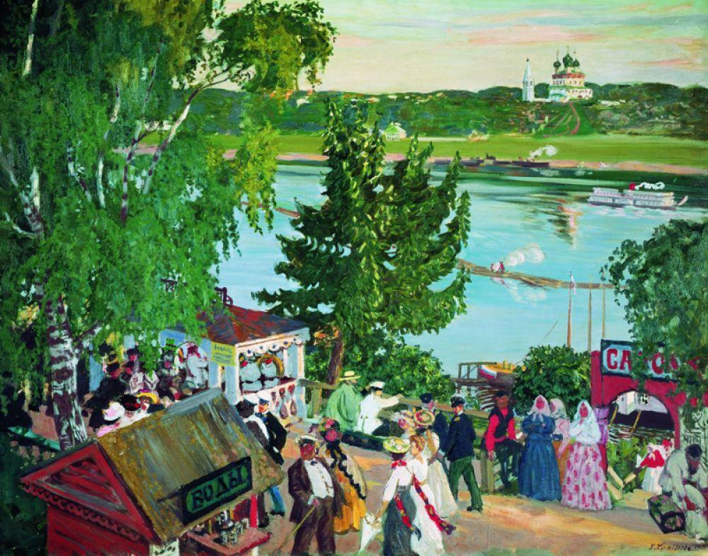 «Гулянье на Волге» (1909).