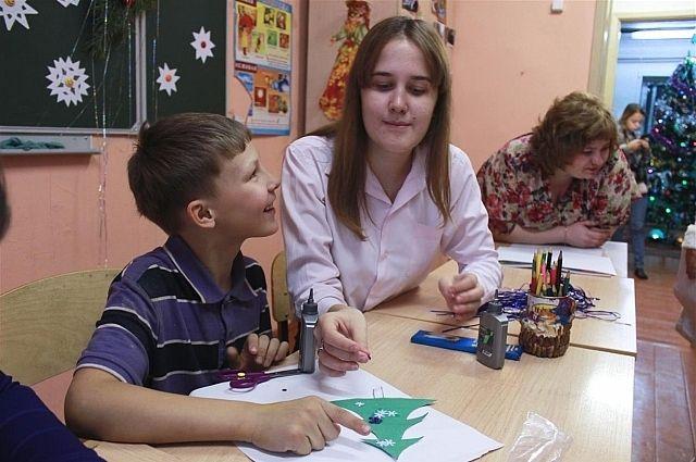 Набор волонтёров для работы с особыми детьми идёт постоянно.