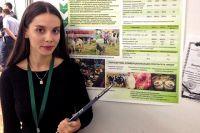 Студентка Кубанского государственного аграрного университета Валерия Редько.