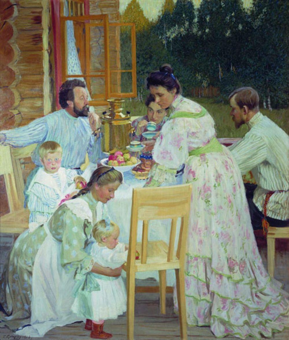 «На террасе» (1906).